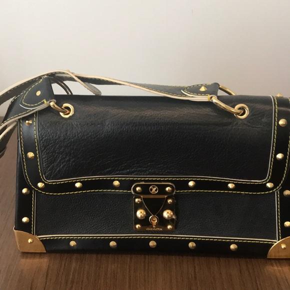 8602cdbcd Louis Vuitton Bags | Suhali Talenteux Black Gold Purse | Poshmark